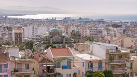 Cityscape of Patras on Peloponnese in Greece Royalty Free Stock Image