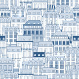 Cityscape patroon Stock Afbeelding