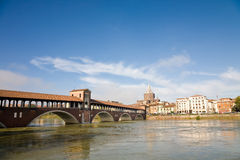 Cityscape, Pavia, Italy Stock Photo
