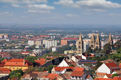 Cityscape Pecs Hungary Royalty Free Stock Photos