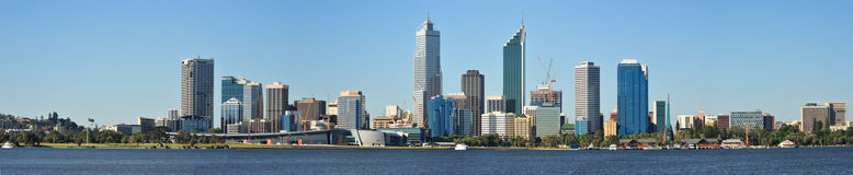 Cityscape of PERTH Royalty Free Stock Photos