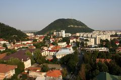 Cityscape of Piatra Neamt Stock Images