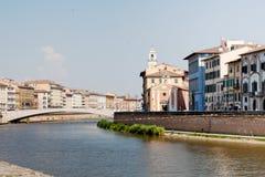 Cityscape of Pisa, Italy Royalty Free Stock Photo