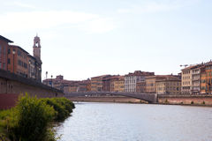 Cityscape of Pisa, Italy Royalty Free Stock Image