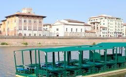 Cityscape of Pisa, Italy Stock Image