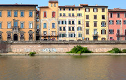 Cityscape of Pisa, Italy Royalty Free Stock Photos