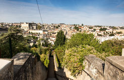 Cityscape of Poitiers at a summer day Royalty Free Stock Images