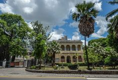 Cityscape of Port Louis, Mauritius royalty free stock image