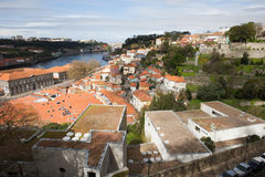 Cityscape of Porto in Portugal Royalty Free Stock Photos