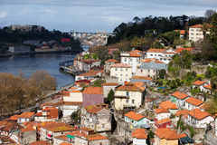 Cityscape of Porto in Portugal Royalty Free Stock Images