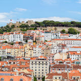 Cityscape Portugal van Lissabon Stock Afbeeldingen