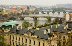 Cityscape of Prague Royalty Free Stock Photography