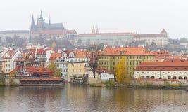 Cityscape of Prague Royalty Free Stock Image