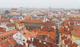 Cityscape of Prague Royalty Free Stock Photos