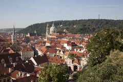 Cityscape of Prague Royalty Free Stock Photo