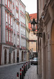 Cityscape in Prague in autumn, Czech Republic Royalty Free Stock Photo