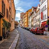 Cityscape of Prague Stock Image