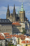 Cityscape of prague Stock Photography