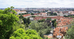 Cityscape in Prague. Stock Image