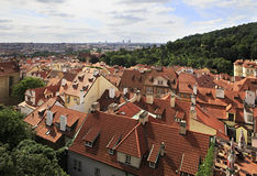 Cityscape of Prague. Cityscape in the center of Prague Royalty Free Stock Photography