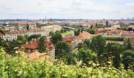 Cityscape of Prague. Royalty Free Stock Images
