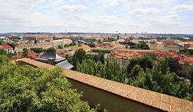 Cityscape of Prague. Cityscape in the center of Prague Stock Images