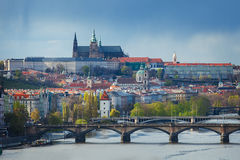 Cityscape of Prague, Chech republic Royalty Free Stock Photography