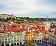 Cityscape of Prague Stock Photo