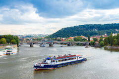 Cityscape of Prague. Royalty Free Stock Photos