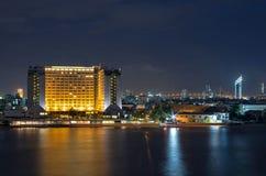 Cityscape Property Bangkok river side Stock Photos