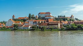 Cityscape of Ptuj royalty free stock image