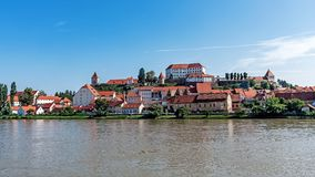 Cityscape of Ptuj royalty free stock photography