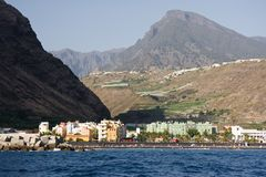Cityscape at Puerto Tazacorte, La Palma Royalty Free Stock Photos