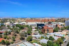 Cityscape puertola cruz stock foto