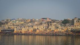 Cityscape of Pushkar, India Stock Photography