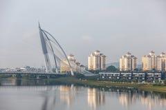 Cityscape of Putrajaya city at Malaysia Stock Photos