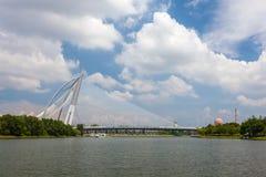 Cityscape of Putrajaya city at Malaysia Royalty Free Stock Photos