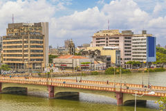 Cityscape of Recife, Pernambuco Brazil Royalty Free Stock Images