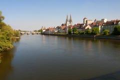 Cityscape Regensburg Stock Image