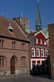 Cityscape of Ribe, Denmark Royalty Free Stock Photography
