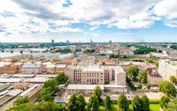 Cityscape of Riga, Latvia. Royalty Free Stock Image