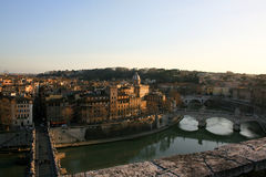 Cityscape of Rome Stock Photography