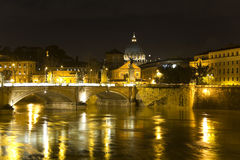 Cityscape of Rome Stock Photos