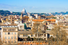 cityscape rome Royaltyfria Bilder