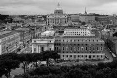 Cityscape in Rome Stock Image