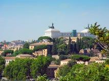 Cityscape of Rome. Stock Photo