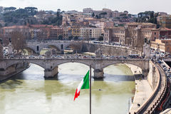 Cityscape of Rome Royalty Free Stock Photography