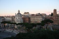 Cityscape of Rome Italy Royalty Free Stock Photo