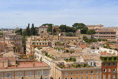 Cityscape of Rome, Italy Royalty Free Stock Images
