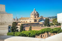Cityscape Of Rome Italy Stock Image Image Of Roof 137838907